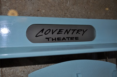 Coventry Theatre sign