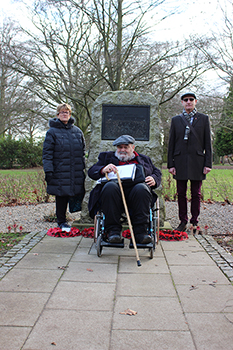 Visiting the Memorial Park, Coventry