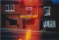 Ref: O17.  Photograph: 03.07.1986. Quarry Bank Fish and Chips.