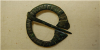 This decorative Anglo Saxon brooch was probably used to fasten a cloak.