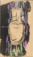 Christ With Hands Raised, by Graham Sutherland, 1952-1958