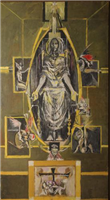 Christ in Glory: First Cartoon for the Tapestry, by Graham Sutherland, 1953