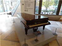 George Eliot's piano from 1869 until her death in 1880