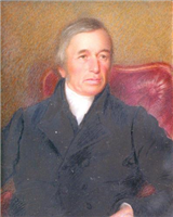 George Eliot's father, Robert Evans. Painting probably by Carlisle, 1842.