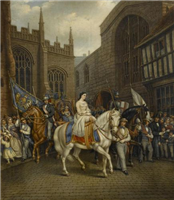 Lady Godiva Procession, Coventry by David Gee (1793 to 1872)