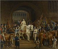 Lady Godiva Procession of 1829, Coventry by David Gee (1793 to 1872)