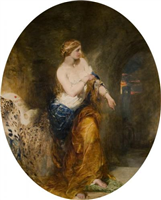 Lady Godiva by Alfred Woolmer (1805 to 1892)