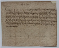 Letter from Queen Anne (Anne Boleyn)