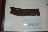 Medieval woollen fabric from Broadgate.