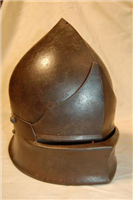 Coventry Sallet. This medieval helmet dates from the 1400s.