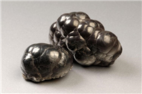 Haematite. Haematite is the main source of iron. Haematite is often used in jewellery and ornaments.