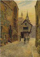 Bayley Lane by Herbert Cox, 1918